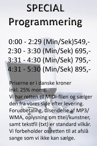 Special programmering